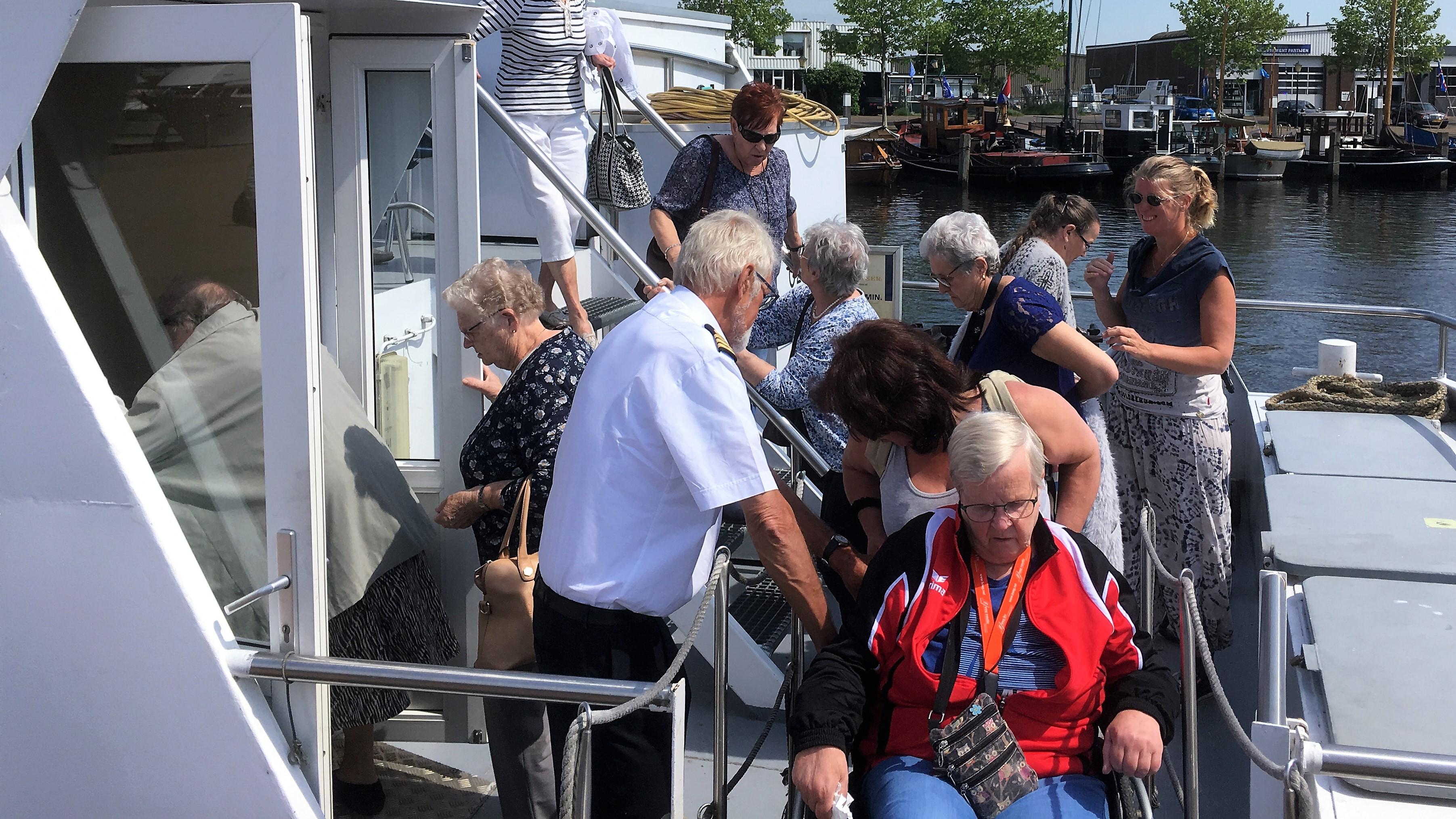 Volledig verzorgde dagtocht per boot van Elburg naar Urk